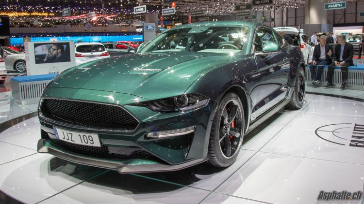 gen ve 2018 ford mustang bullitt. Black Bedroom Furniture Sets. Home Design Ideas