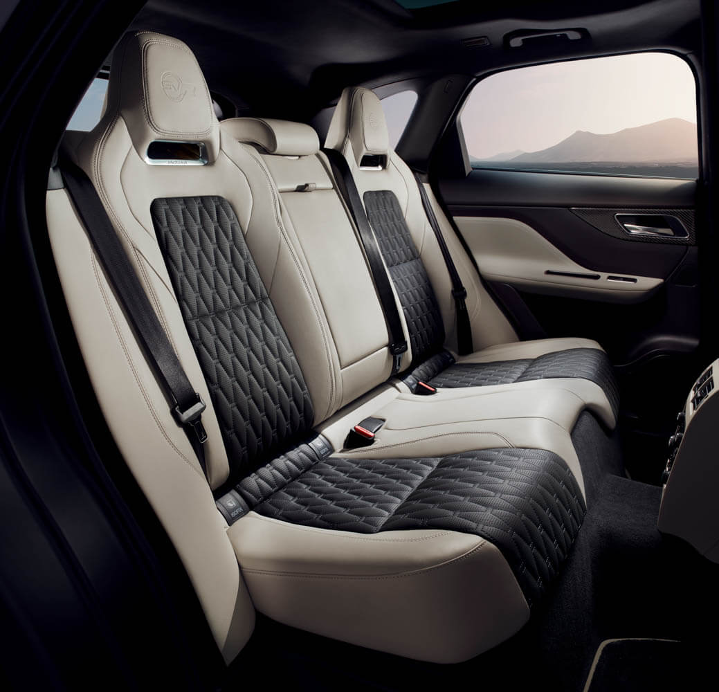 jaguar f pace svr. Black Bedroom Furniture Sets. Home Design Ideas