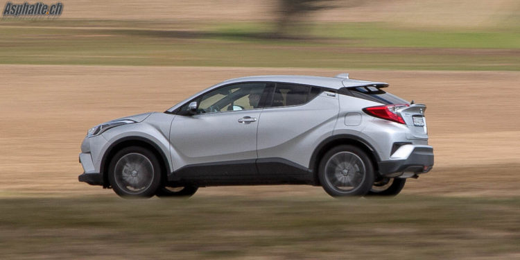 Essai Toyota C-HR Turbo 1.2L AWD