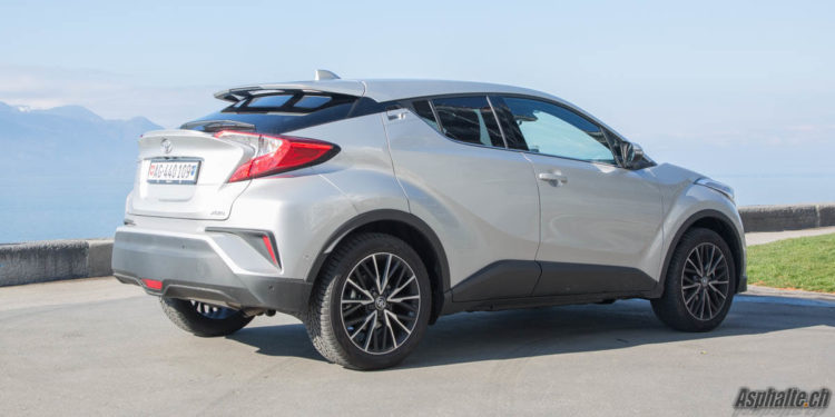 Essai Toyota C-HR 1.2L Turbo AWD