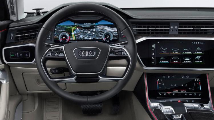 Audi a6 avant c8 page 2 for Interieur cuir audi a4 b7