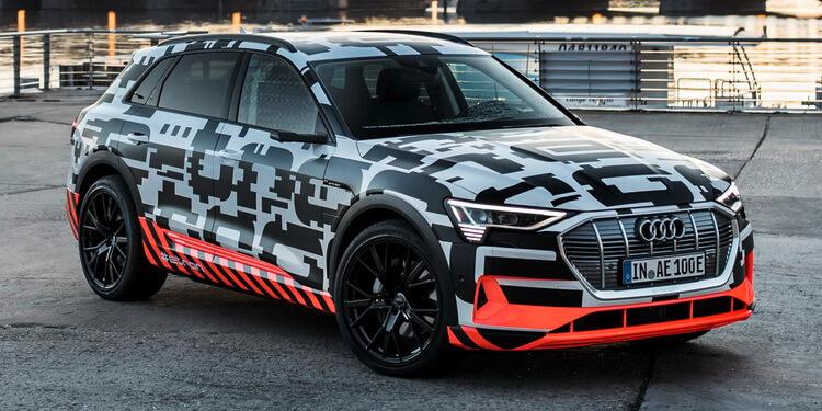 Audi e-tron nouveaux détails Berlin