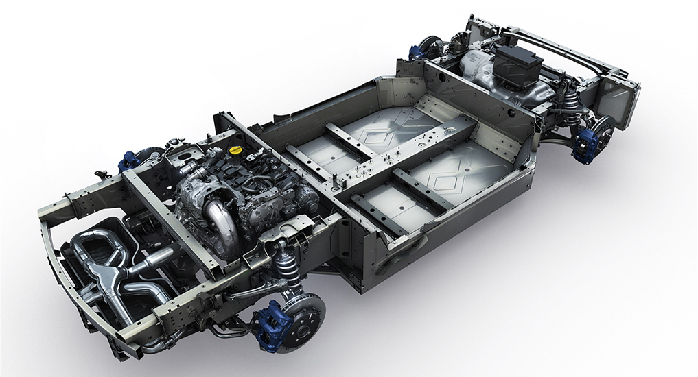 2017 - [Alpine] A110 [AS1] - Page 7 Alpine-A110-chassis