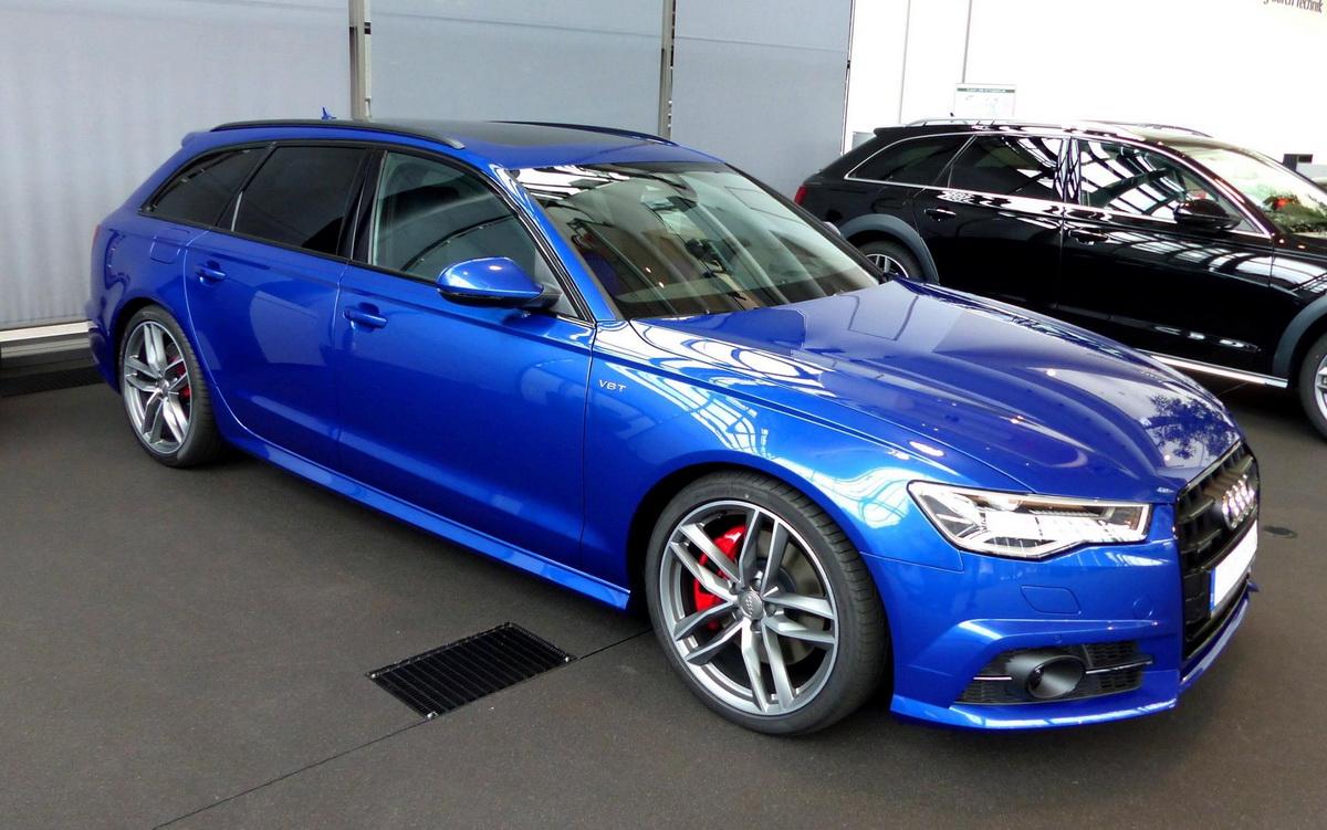Audi A6 Bleu