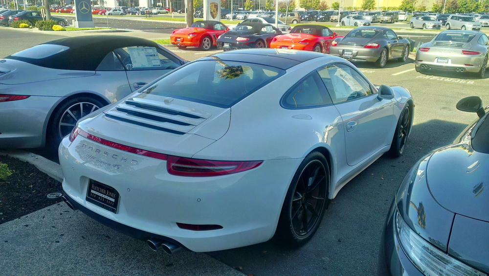 Porsche 911 Type 991 Ex 998 Page 43 Asphalte Ch