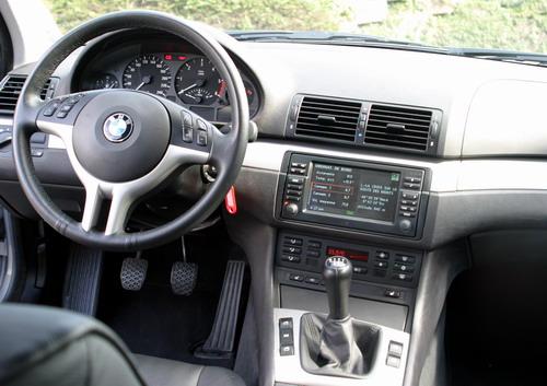 Essai BMW 330d E46 intérieur