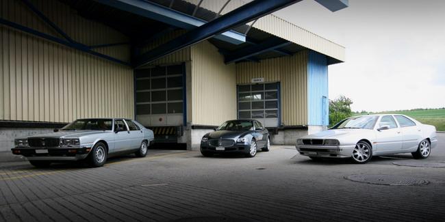 Essai comparatif Maserati Quattroporte 3, 4 & 5