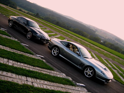 Maserati 4200 Gransport Ferrari 550 Maranello