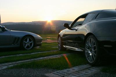 Ferrari 550 Maranello Maserati 4200 Gransport