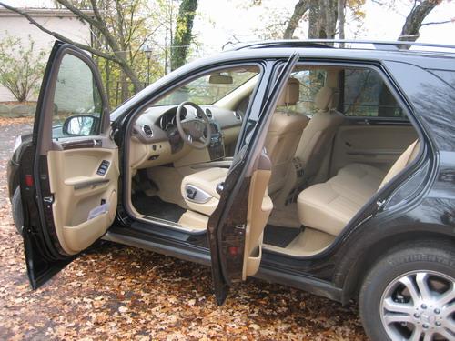 Mercedes ML W164 intérieur