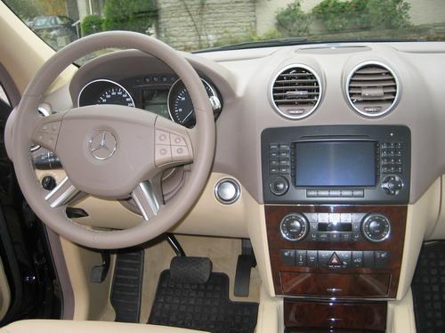 Mercedes ML W164 intérieur tableau de bord