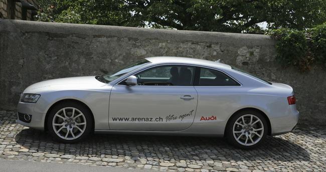 Essai Audi A5 Coupé