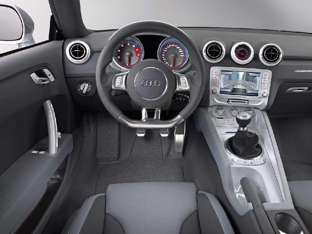 Audi Shooting Brake Concept 2005 intérieur