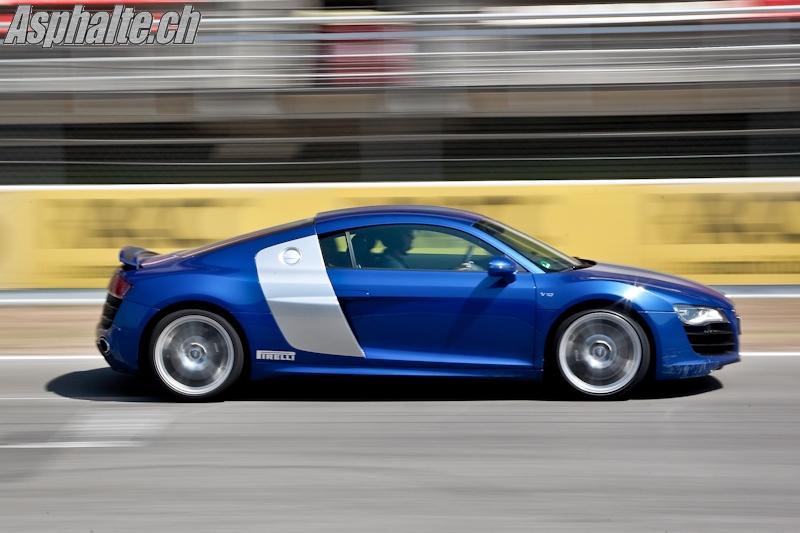 Essai Audi R8 V10 5.2 FSI
