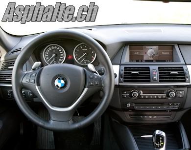 Essai BMW X6 xDrive35i intérieur tableau de bord