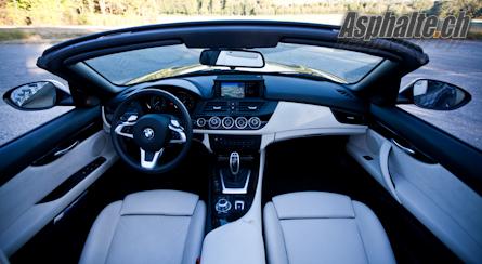 Essai BMW Z4 sDrive35i intérieur