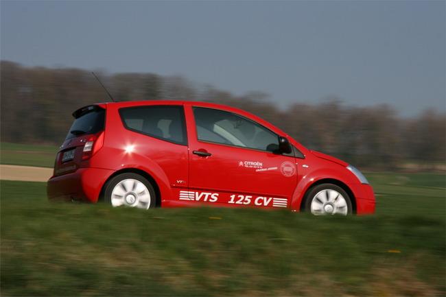 Essai Citroën C2 VTS - Superloeb returns ?