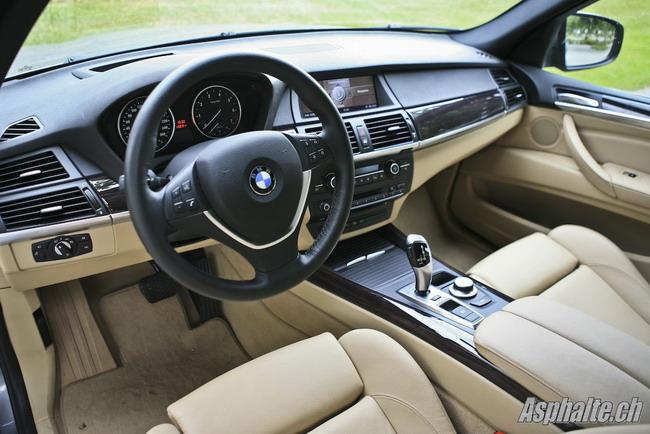 Essai BMW X5 E70 intérieur