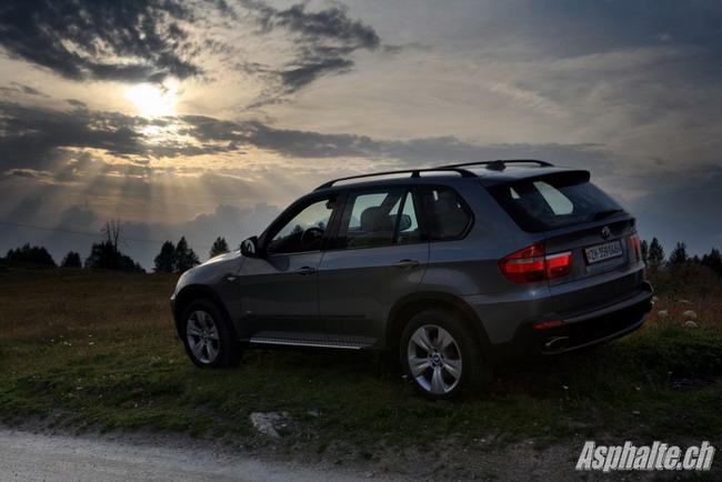 Essai BMW X5 4.8 E70