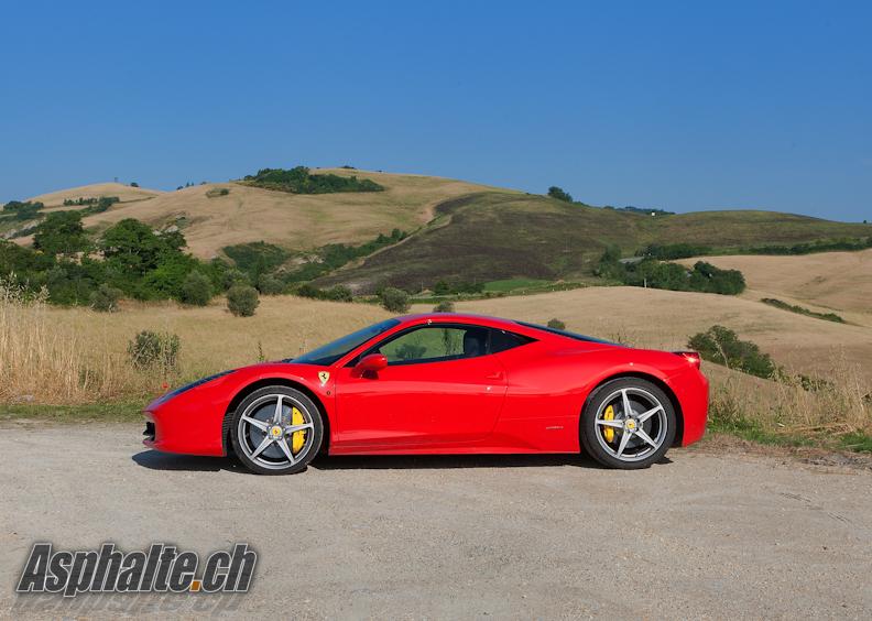 Ferrari 458 Italia profil