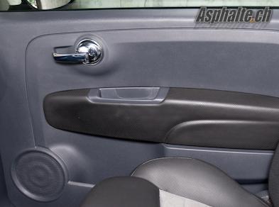 Fiat 500 Twinair intérieur