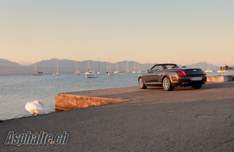 Essai Bentley Continental GTC Speed mk1