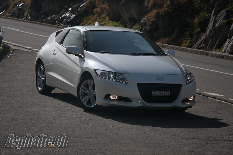 Essai Honda CR-Z – Esprit X, es-tu là ?
