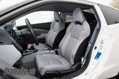 Honda CR-Z intérieur sièges