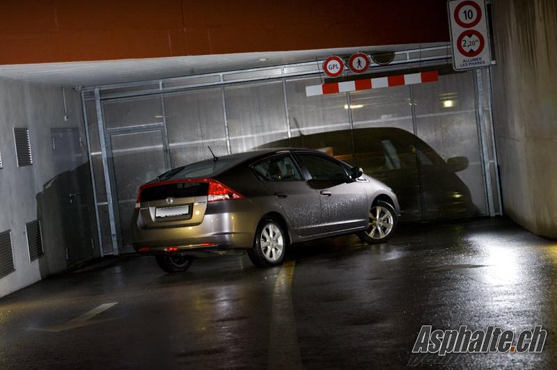 Essai Honda Insight - Perte de vue