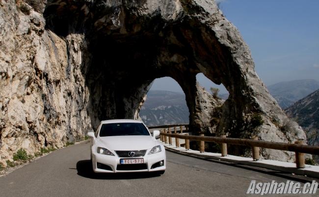 Essai Lexus IS F