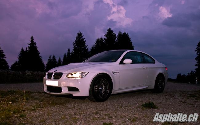 Essai BMW M3 E92 DCT