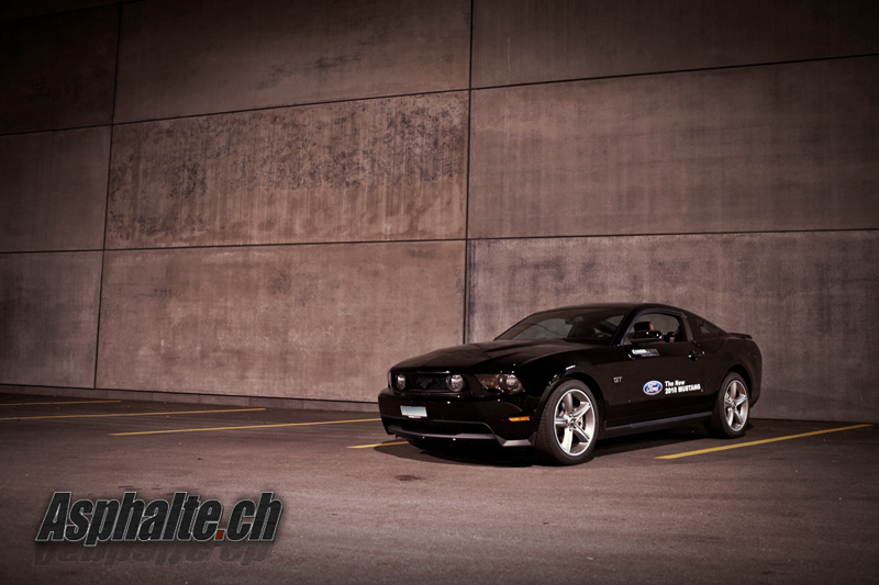 Essai Ford Mustang GT 2010