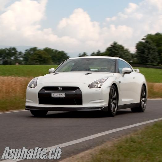 Essai Nissan GT-R 2009