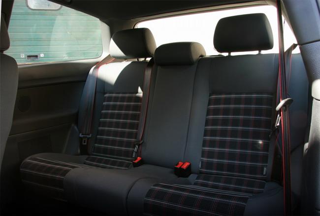 Essai VW Polo GTI sièges arrière