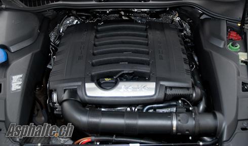 Essai Porsche Cayenne V6 moteur