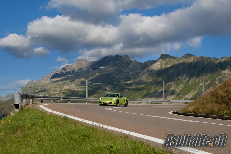 Essai Porsche Cayman R