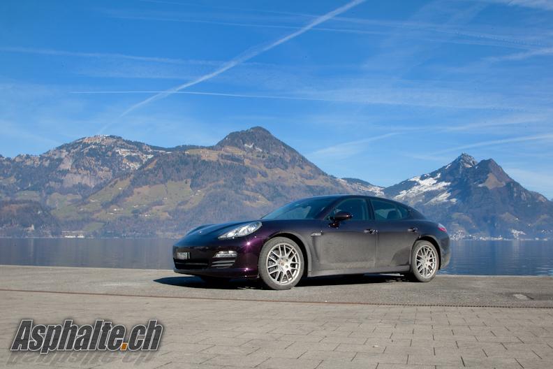 Essai Porsche Panamera 4