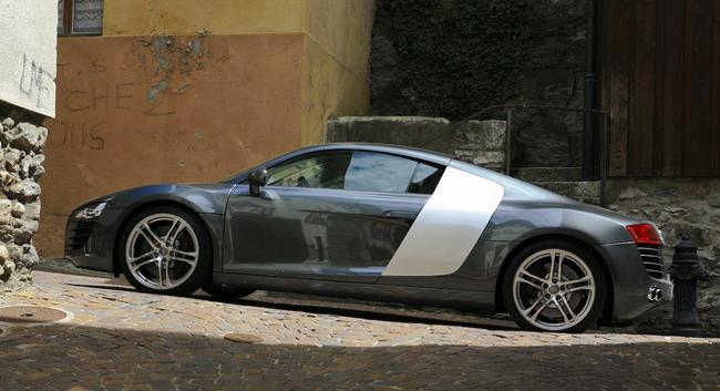 Essai Audi R8 V8 4.2 FSI