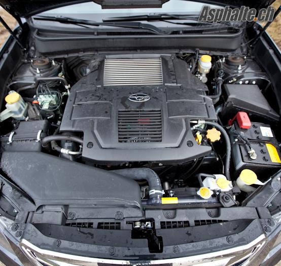 Essai Subaru Legacy 2.5 GT Moteur