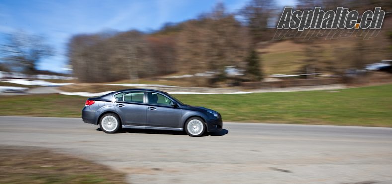 Essai Subaru Legacy 2.5 GT