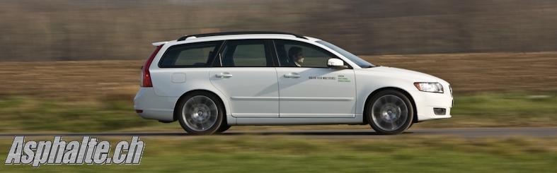 Essai Volvo V50 Multifuel