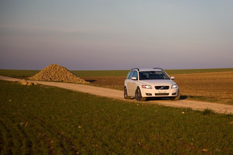 Essai Volvo V50 Multifuel : « Alors, ça gaze ? »