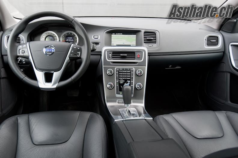 Essai Volvo V60 T6 intérieur