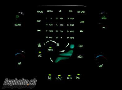 Volvo V60 console centrale