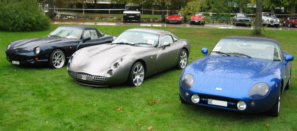 TVR Chimaera Tuscan Griffith