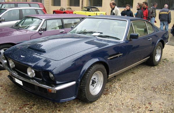 Aston Martin V8 Vantage British Classic Car Morges 2005