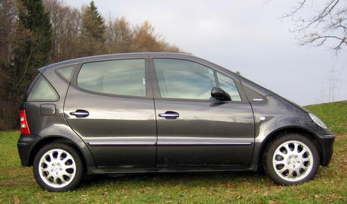 Essai Mercedes A190L