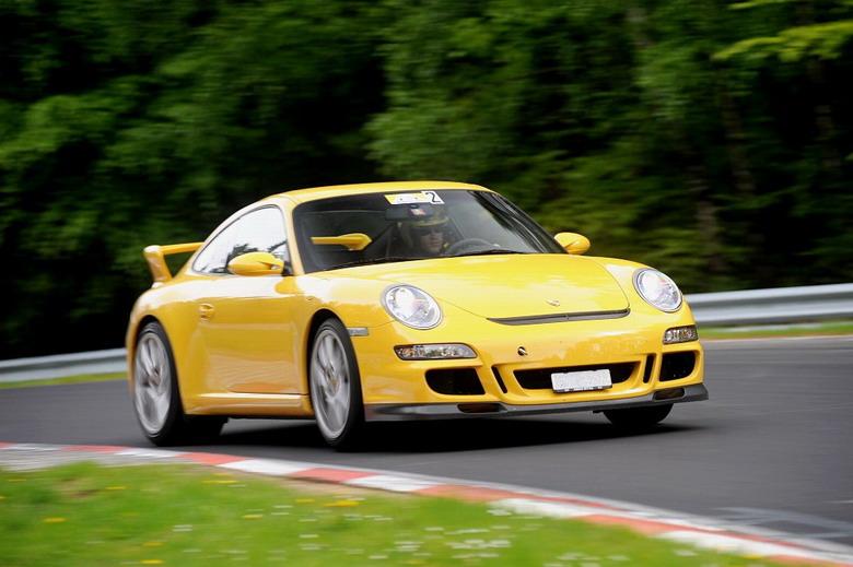 Porsche 997 GT3: Nürburgring