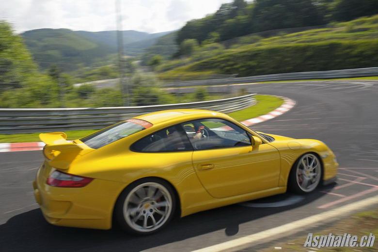 Porsche 997 GT3: Wehrseifen