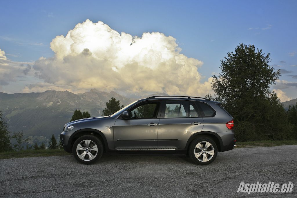 Essai BMW X5 4.8i E70